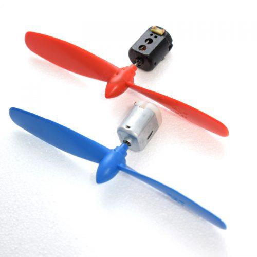 موتور و ملخ پلاستیکی - 3 تا 6 ولتی 3