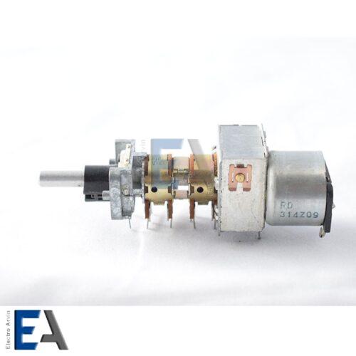 پتانسیومتر-اتومات-با-آرمیچر - پتانسیومتر موتور دار ( مقاومت متغیر ) 50K