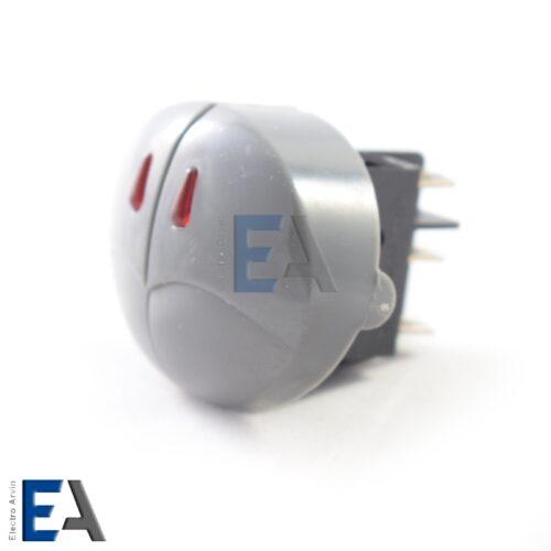 کلید راکر دو پل چراغدار SOKEN - کلید-راکر-دو-پل-تزئینی