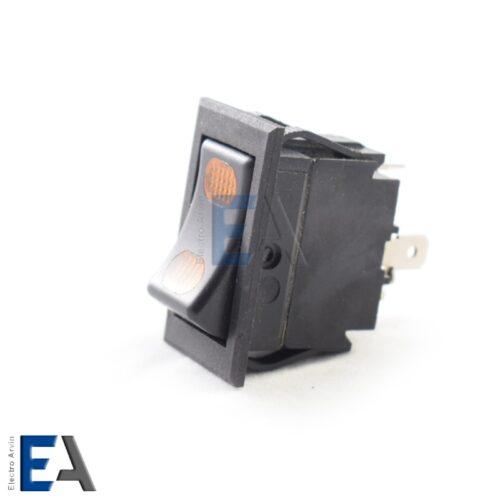 کلید راکر سه حالته چراغدار 4 پایه-کلید-راکر-ماشین