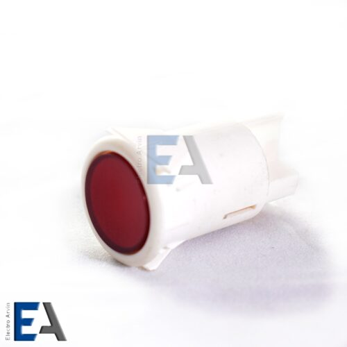شستی-فشاری-سفید-رنگ شستی فشاری گرد دو کنتاک پلاستیکی سفید