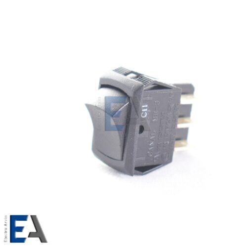 کلید راکر کوچک 10 آمپر کلید-راکر-مشکی-مستطیلی