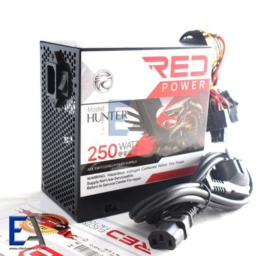 منبع تغذیه کامپیوتر ( پاور ) RED 250 وات
