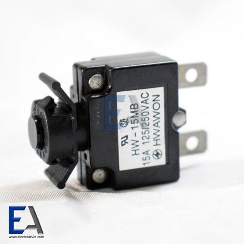 قطع کننده مدار 15 آمپر - سوئیچ اورلود Circuit Breakers سوئیچ-مینیاتوری-قوی-220-ولت-آمپر-فروش