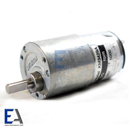 موتور-گیربوکس-دار-5000-دور-24-ولت-