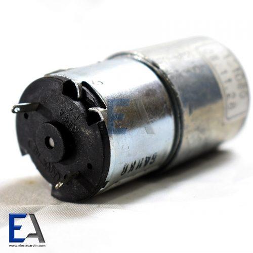 موتور 24 ولت 10 دور در دقیقه گیربوکس دار موتور-گیربوکس-دار-5000-دور-24-ولت-